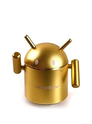 Vibe Tribe Altavoz & Reproductor MP3 Robô Verde