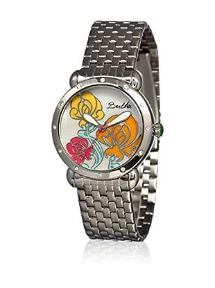 Bertha Uhr mit Japanischem Quarzuhrwerk Josephine silberfarben 41 mm