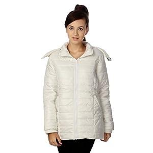 People Women's Blouson Jacket (P20402114703015_Off White_L)