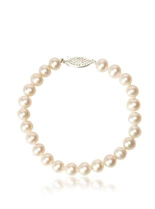 Radiance Pearl 7-8mm White Freshwater Pearl Bracelet