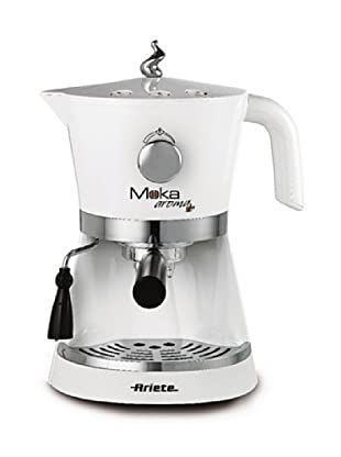 Ariete 1337 1337 Moka Aroma Espressomaschine / Pulver und Pad / 15 bar / Dampfdüse / 850 Watt