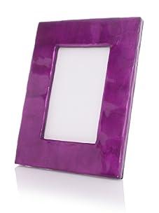 "Terragrafics Cabana 4""x 6"" Picture Frame (Purple)"