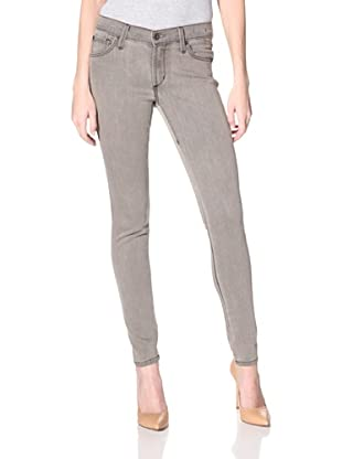 James Jeans Women's Twiggy Sahara 5-Pocket Skinny Jean (Grey Black)