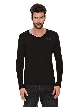 Firetrap Camiseta Henri (Negro)