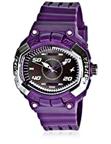 Fastrack Speed Racer Purple Plastic Analog Women Watch ᅵᅵᅵ 9941PP03
