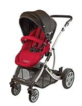guzzie+Guss G+G 1+1 Gabriola Stroller, Red