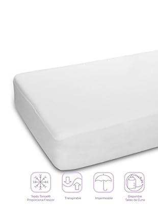 Pikolin Protector de Cuna Tencel Impermeable (Blanco)