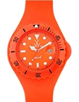 Toywatch Orange Jelly Thorn Ladies Watch Jtb03Or