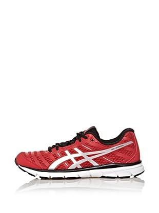 Asics Zapatillas Running Gel-Zaraca 2 (Rojo / Plata / Negro)
