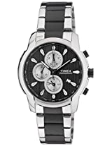 Timex Chronograph Black Dial Men's Watch - TW000Y506