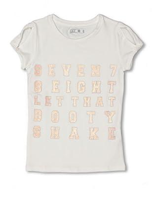CKS Kids GIRLS Camiseta Sequoiadendron (Crudo)