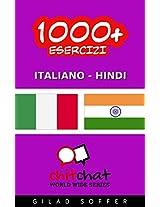 1000+ Esercizi Italiano - Hindi (ChitChat WorldWide) (Italian Edition)