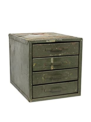 Uptown Down Vintage 4-Drawer Steel Parts Case