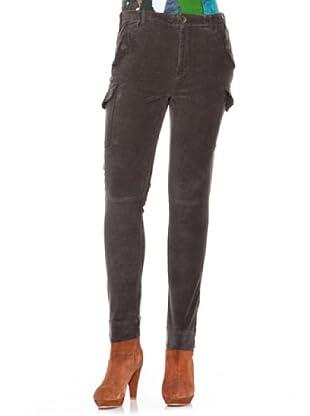 Desigual Pantalón Hiano (caqui)