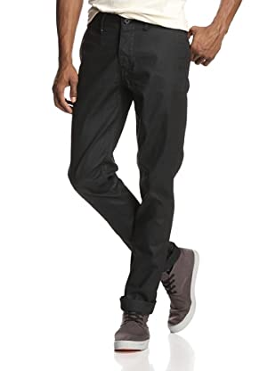 Denim & Leathers by Andrew Marc Men's Union Chino (Black)