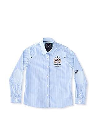 Valecuatro Camisa Junior Caballos (Azul Celeste)