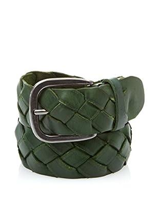 Cortefiel Cinturón Piel (Verde Oscuro)