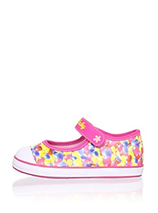 Pablosky Kid's Mary Jane Sneaker (Pink)