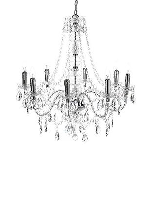 Contemporary Living Lámpara De Araña Jewel Clear Transparente