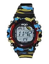 Ego by Maxima Digital Black Dial Men's Watch - E-37193PPDN