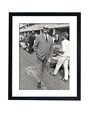Mazali - Culture Décor Wandbild Enzo Ferrari