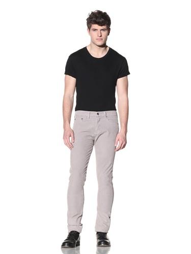 SPURR Men's Washed Corduroy Pant (Grey)