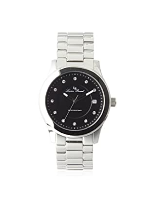 Lucien Piccard Unisex LP-10226-11 Cima Silver/Black Stainless Steel Watch