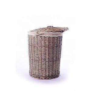 """Laundry Basket Cane 40 cm"""""""