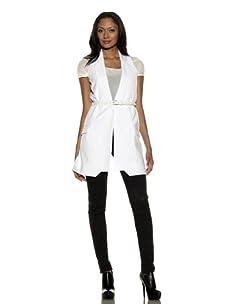 Preen Women's Miter Waistcoat (White)