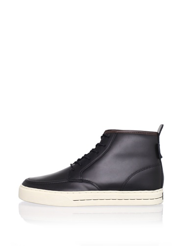 Clae Men's Jones Sneaker (Black Leather)