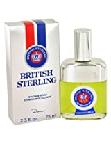 Dana British Sterling Cologne Spray for Men 2.5 Ounce