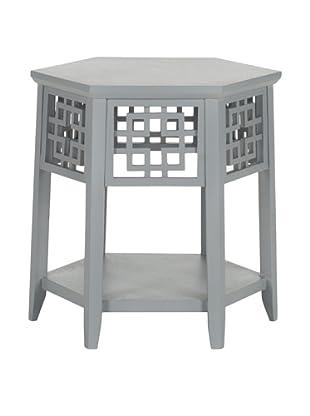 Safavieh Zelda End Table, Pearl Blue Grey