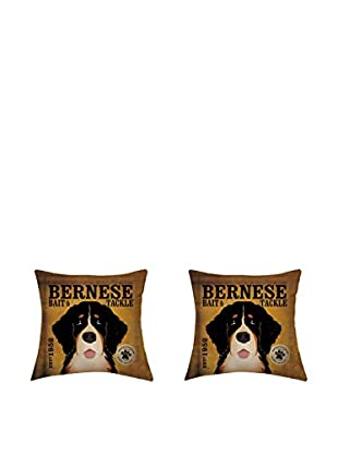 LITTLE FRIENDS by MANIFATTURE COTONIERE Kissenbezug 2er Set Bernese