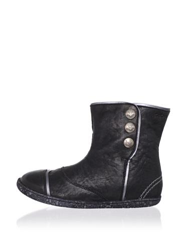 Kickers Kid's Baltik Boot (Toddler/Little Kid) (Black)