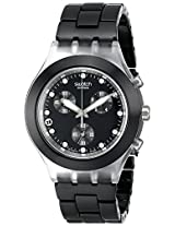 Swatch Analog Black Dial Men's Watch - SVCK4035AG
