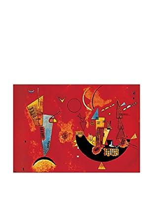 Artopweb Wandbild Kandinsky Con E Contro 80x60 cm mehrfarbig