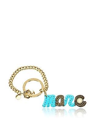 Marc by Marc Jacobs Ciondolo Per Borsa Small Confetti Script