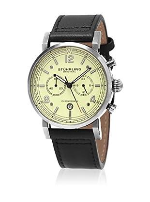 Stührling Original Uhr mit japanischem Quarzuhrwerk Man Aviator 583 42 mm