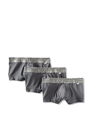 2(x)ist Men's Military No-Show Trunk 3-Pack (Lead)