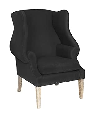 Safavieh Kameron Club Chair, Black