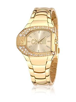 Just Cavalli Reloj de cuarzo Woman Jc Logo Dorado 29x36 mm