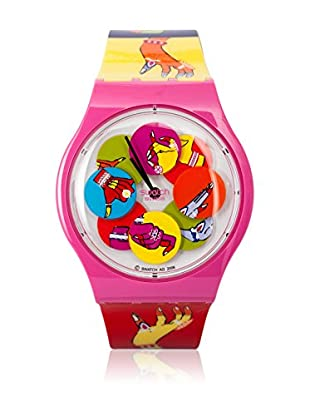 Swatch Quarzuhr DANCING HANDS SUPP101 Kids Armbanduhr 38 mm