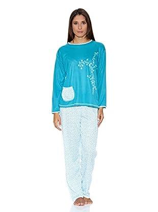 Kumy Pijama Bolsillo (Turquesa)