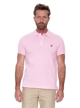 Cortefiel Polo Piqué Básico (Rosa Medio)