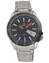 Baywatch Analog Watch - For Men (Steel) 2066BLACK