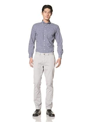 Just a Cheap Shirt Men's Slim Fit Chino (Grey)