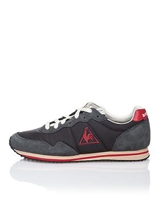 Le Coq Sportif Zapatillas Retro Lifestyle Milos (Negro / Rojo)