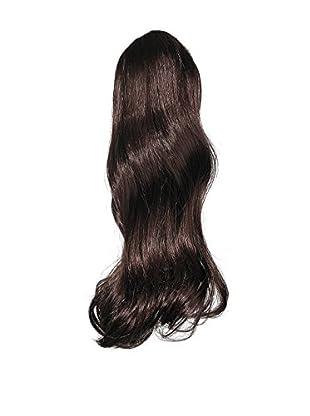Love Hair Extensions Kunsthaar-Pferdeschwanz India mit Krokodilklemme 40,5cm, 2 Dark Brown