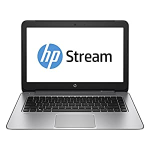 HP Stream 14 Laptop with Beats Audio (Natural Silver) (Discontinued by Manufacturer)