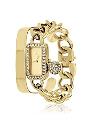 Arm Candy Women's NXS5354G-C Gold-Tone Stainless Steel Bangle/Watch